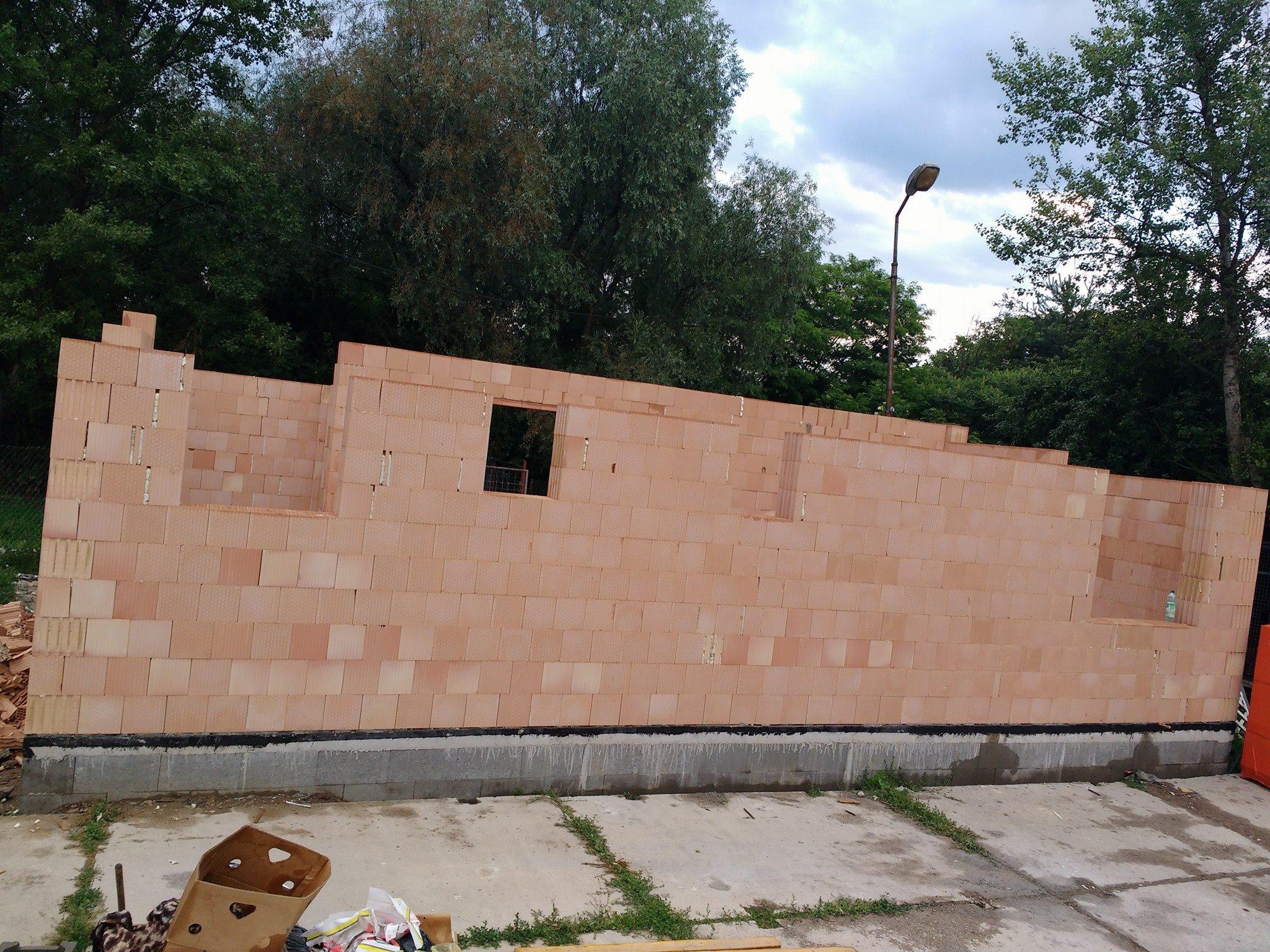 Steny budovy