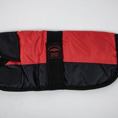Čierno-červený kabátik
